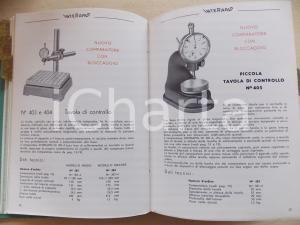 1950 ca MILANO Fratelli GIANINI Strumenti di misura e controllo *Catalogo 150 pp