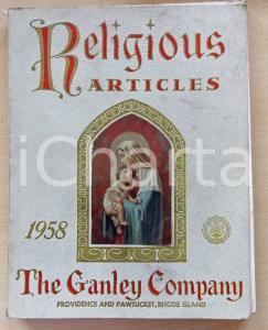 1958 PROVIDENCE (USA) THE GANLEY COMPANY Religious articles - Catalog 192 pp.