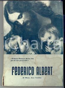 1954 Mons. José COTTINO Federico ALBERT Vicario di LANZO *Ed. BIGLIARDI