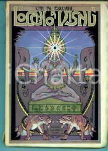 1922 Cap. Ph. ESCURIAL L'occhio di Visnù *Ed. Licinio CAPPELLI - BOLOGNA