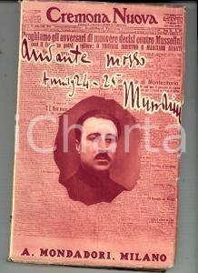 1929 Roberto FARINACCI Andante mosso - CREMONA NUOVA *Mondadori - RARO