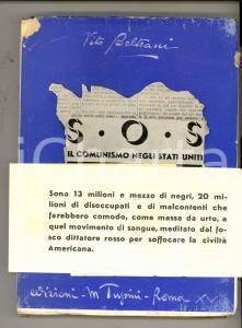 1939 Vito BELTRANI S.O.S. Il comunismo negli Stati Uniti *Ed. TUPINI - RARO