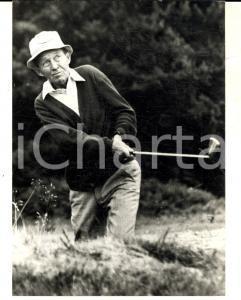 1970 ca USA Cantante e attore Bing CROSBY gioca a golf  *Fotografia 13x18 cm