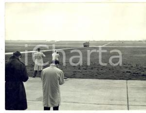1960 CHAUMONT Départ des derniers chasseurs américains en France *Photo 18x13