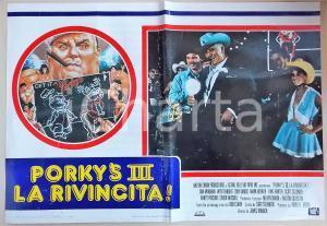 1985 PORKY'S III LA RIVINCITA Chuck MITCHELL with headlight *Manifesto 66x45 cm