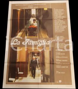 1987 LA FAMIGLIA Vittorio GASSMAN Fanny ARDANT Ettore SCOLA *Manifesto 100x140