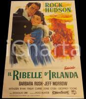 1955 IL RIBELLE D'IRLANDA Captain Lightfoot - Rock HUDSON *Manifesto 100x140