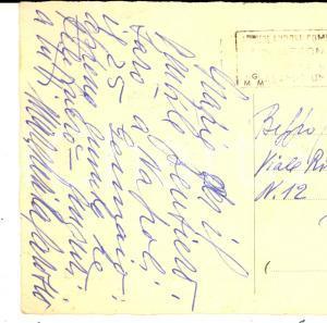1954 MILANO Soprano Margherita CAROSIO promette visita a Napoli - Autografo