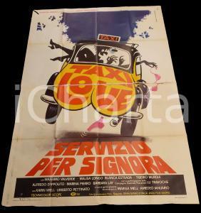 1976 TAXI LOVE Máximo VALVERDE Malisa LONGO Blanca ESTRADA *Manifesto 140x200 cm