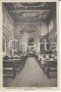 1931 VENEGONO INFERIORE (VA) Seminario Arcivescovile *Autografo mons. ROTONDI