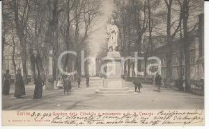 1902 TORINO Giardini della Cittadella - Monumento Giovanni Battista CASSINIS *FP