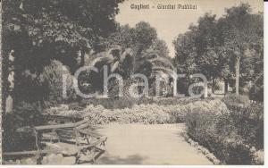 1915 ca CAGLIARI Veduta dei Giardini Pubblici *Cartolina postale VINTAGE FP NV