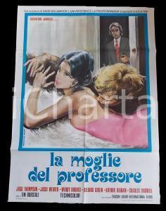 1974 LA MOGLIE DEL PROFESSORE Jacki WEAVER Jack THOMPSON *Manifesto 100x140 cm