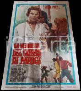 1967 LA VENDETTA DEL GOBBO DI PARIGI Jean PIAT Nadine ALARI *Manifesto 140x200