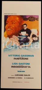 1968 LA PECORA NERA Vittorio GASSMAN Lisa GASTONI Luciano SALCE *Manifesto 32x70