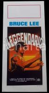 1982 BRUCE LEE IL LEGGENDARIO Bruce LI Ho CHUNG TAO Dan INOSANTO Manifesto 32x70