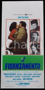 1975 IL FIDANZAMENTO Lando BUZZANCA Martine BROCHARD Didi PEREGO Manifesto 32x70