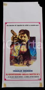 1982 IL GIUSTIZIERE DELLA NOTTE 2 Charles BRONSON Jill IRELAND *Manifesto 32x7
