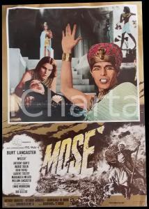 1974 MOSE' La legge del deserto - Burt LANCASTER Irene PAPAS Manifesto 66x45 cm