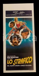 1980 PRESTAMI TUA MOGLIE Diego ABATANTUONO strafico del cinema italiano 32x70 cm