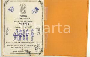 1990 PORTUGAL Associação de Surdos do Barreiro - Programa festa de Carnaval