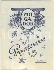 1930 ca PARIS Théâtre MOGADOR - Comédie