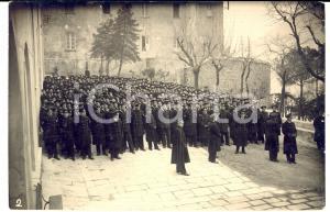 1930 ca MONCALIERI Accademia Militare - Schieramento allievi ufficiali - Foto