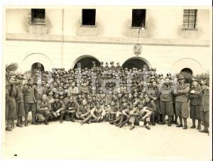 1935 MILANO Caserma - Reparto di fanteria - Brigata CUNEO - Foto Ernani COLOMBO
