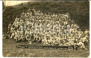 1930 ROMA 1° Reggimento GRANATIERI - Gruppo reclute distrettuali *Foto 18x11 cm