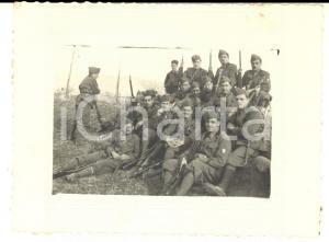 1936 REGIO ESERCITO Ufficiali AVIAZIONE in campagna di istruzione - Foto