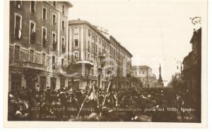 1921 MILANO Sagra della Vittoria - La Regia Marina *Cartolina 13x18 cm