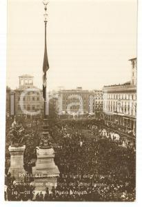 1921 ROMA Sagra della Vittoria - Il corteo in Piazza Venezia *Cartolina