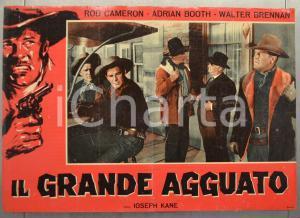 1960 ca IL GRANDE AGGUATO Rod CAMERON Adrian BOOTH Fotobusta WESTERN 66x46 (3)