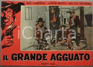 1960 ca IL GRANDE AGGUATO Rod CAMERON Adrian BOOTH Fotobusta WESTERN 66x46 (2)