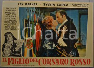 1959 IL FIGLIO DEL CORSARO ROSSO Emilio SALGARI Lex BARKER Fotobusta 66x46 (4)