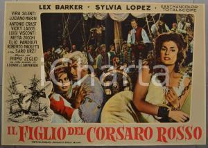 1959 IL FIGLIO DEL CORSARO ROSSO Emilio SALGARI Lex BARKER Fotobusta 66x46 (3)