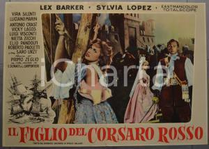 1959 IL FIGLIO DEL CORSARO ROSSO Emilio SALGARI Lex BARKER Fotobusta 66x46 (2)