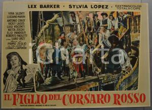1959 IL FIGLIO DEL CORSARO ROSSO Emilio SALGARI Lex BARKER Fotobusta 66x46 (1)