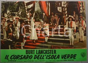 1953 IL CORSARO DELL'ISOLA VERDE Burt LANCASTER Fotobusta 66x46 cm (3)