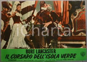 1953 IL CORSARO DELL'ISOLA VERDE Burt LANCASTER Fotobusta 66x46 cm