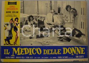 1962 IL MEDICO DELLE DONNE Gino BRAMIERI Valeria FABRIZI Fotobusta 60x40 cm (1)