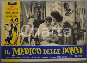1962 IL MEDICO DELLE DONNE Gino BRAMIERI Valeria FABRIZI Fotobusta 60x40 cm