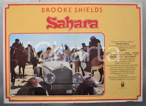 1983 SAHARA Brooke SHIELDS Lambert WILSON Horst BUCHHOLZ Fotobusta 66x46 cm