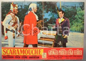 1952 SCARAMOUCHE Stewart GRANGER Eleanor PARKER Janet LEIGH Fotobusta 66x46 cm