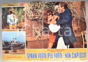 1966 SPARA FORTE, PIÙ FORTE...NON CAPISCO Raquel WELCH Fotobusta 66x46 cm (2)