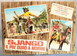1968 SJANGO: IL PIÙ DURO A MORIRE Milton RIBEIRO Helio SOUTO Fotobusta 66x46 cm