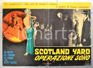 1966 SCOTLAND YARD OPERAZIONE SOHO Jan HOLDEN Bill EDWARDS Fotobusta 66x46 (2)