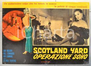 1966 SCOTLAND YARD OPERAZIONE SOHO Jan HOLDEN Bill EDWARDS Fotobusta 66x46 (1)
