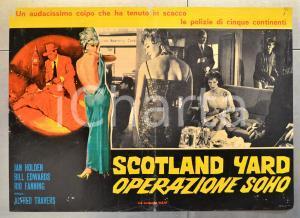 1966 SCOTLAND YARD OPERAZIONE SOHO Jan HOLDEN Bill EDWARDS Fotobusta 66x46 cm