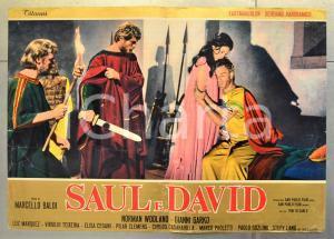 1965 SAUL E DAVID Norman WOOLAND Gianni GARKO Luz MARQUEZ Fotobusta 66x46 cm